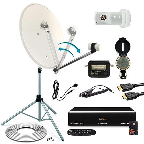 Pack Satellite Camping TNTSAT trípode + parabólica + ...