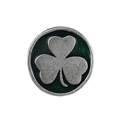 692e1d0fa8f8 Quality Handcrafts Guaranteed Shamrock Lapel Pin - Handmade Gifts - Gifts  For Grandparents - Gift Box Included: Amazon.co.uk: Jewellery