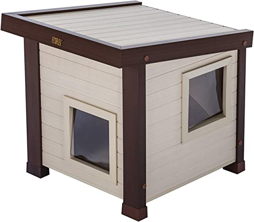 Ecoflex Albany Outdoor Feral Cat House Pet Supplies
