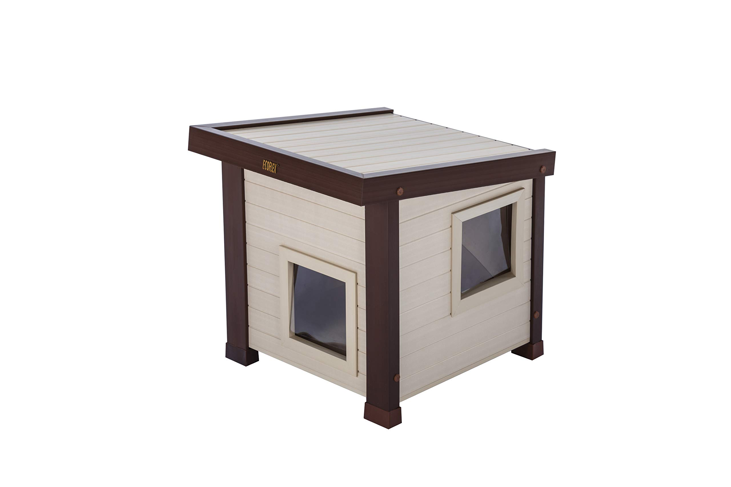 ecoFLEX Albany Outdoor Feral Cat House by New Age Pet