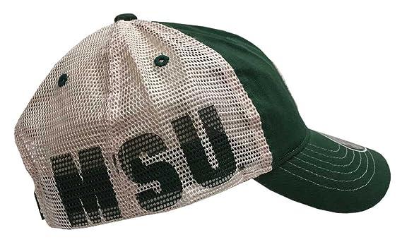 4cc33b228c8044 Amazon.com: Zephyr Hats Michigan State University Spartan Banjo Hat NCAA  College Ball Cap Green: Clothing