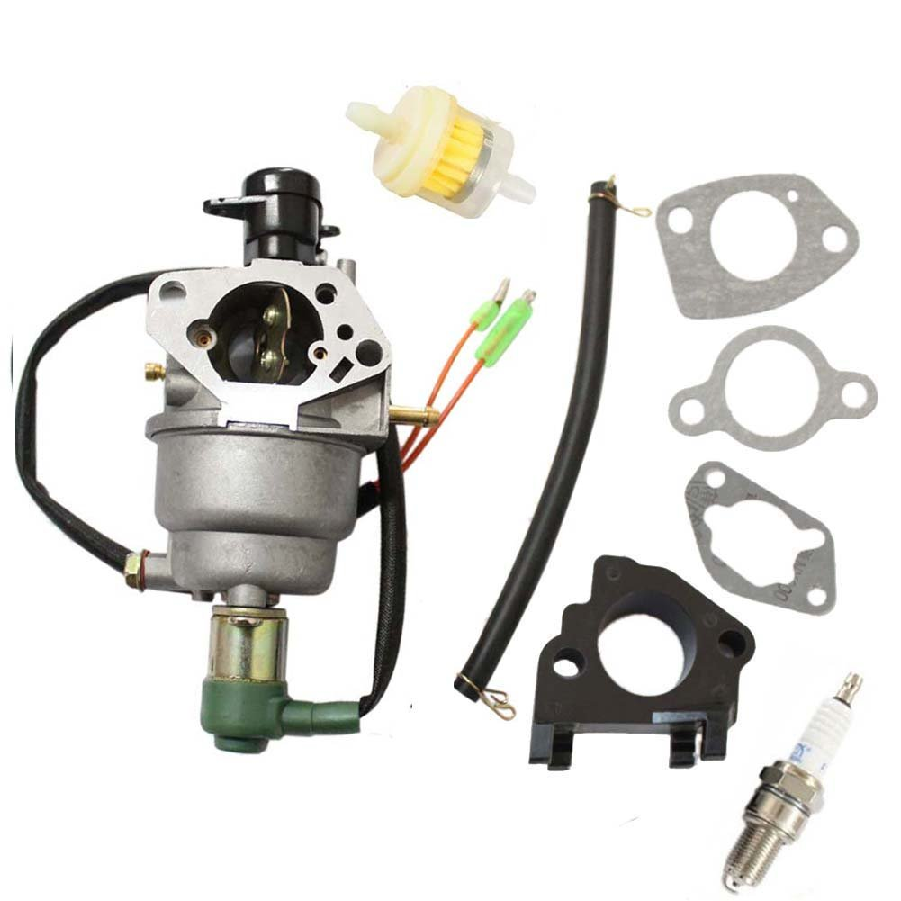 For Champion Power Equipment Cpe 41115 5000 6000 Watt Prime Genset Pr7500cl 6000watt Gas Generator Carburetor Auto Fuel Filter Spark Plug Intake Manifold Garden
