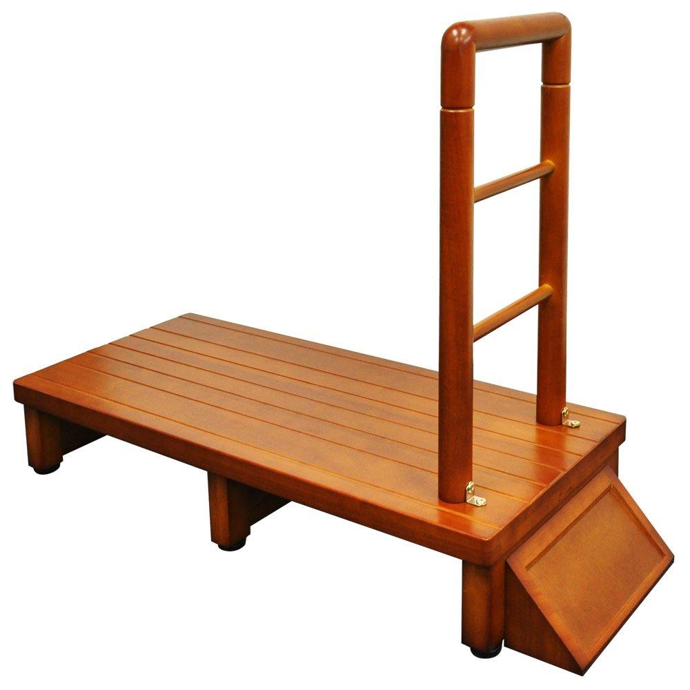 ベルソス 手すり付 玄関台 踏み台 (90cm) B076M1Z9MZ90cm