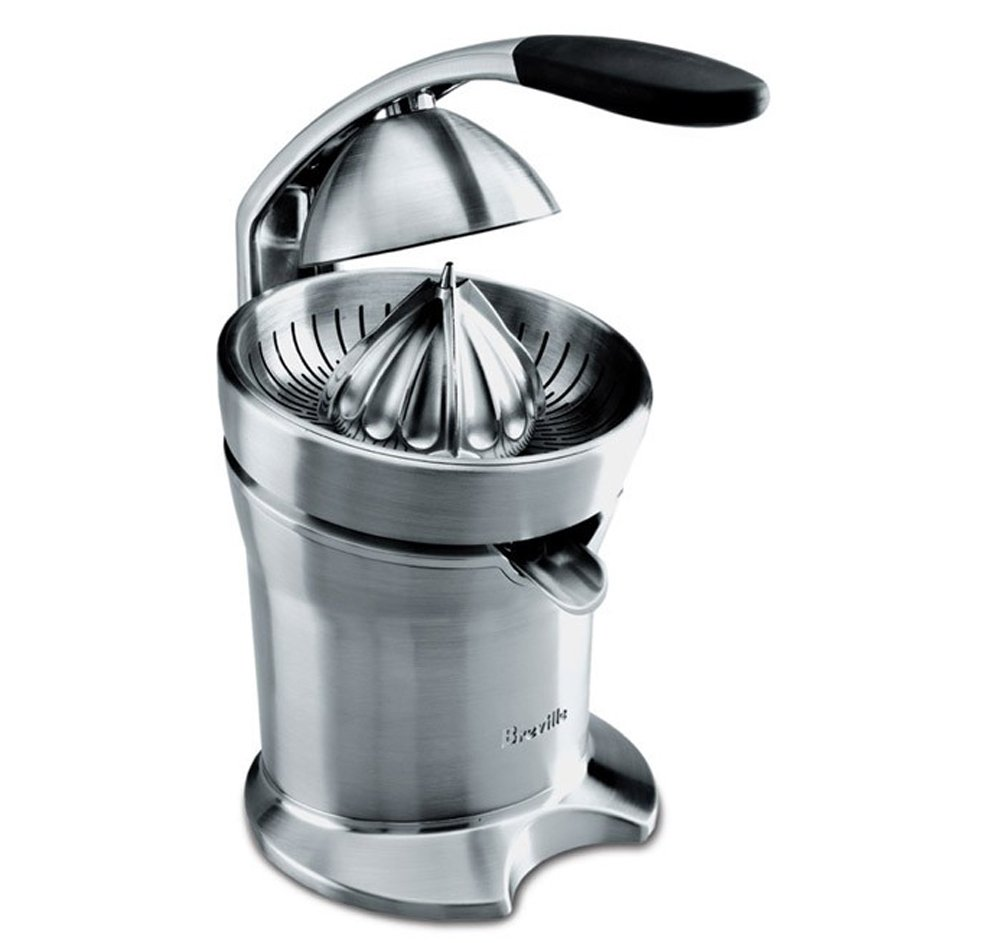 Breville 800 CPXL Stainless-Steel Motorized Citrus Press with DVD by Breville: Amazon.co.uk: Kitchen & Home