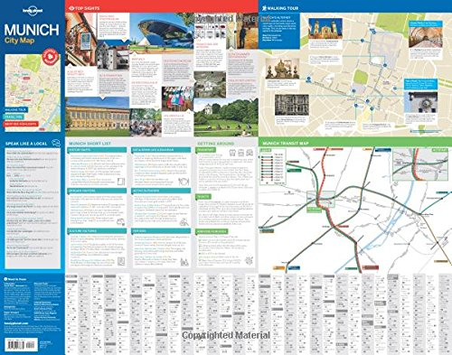 Download Lonely Planet Munich City Map (Travel Guide) book pdf