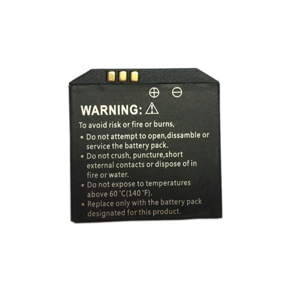 High capacity smart watch rechargable battery for OMATE TRUESMART & X01 X01S X01Plus Android Smart Watch