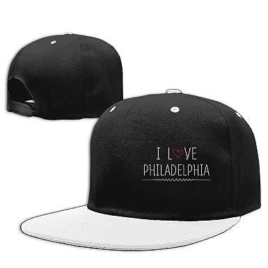 I Love Philadelphia Hip Hop Baseball Caps Adjustable Snapback Hats ... 5e63e2cc938