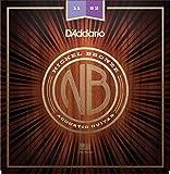 D'Addario Nickel Bronze Acoustic Guitar Strings, Custom Light