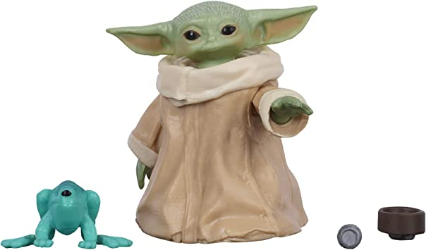 Star Wars The Mandalorian The Child Baby Yoda Bounty Collection Black Series LOT