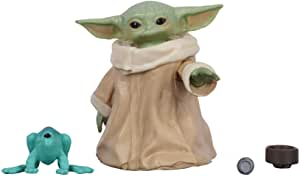 Star Wars - The Mandalorian - Black Series - The Child - Baby Yoda - 1.1 inch Collectible Action Figure - Toys for Kids - Ages 4+
