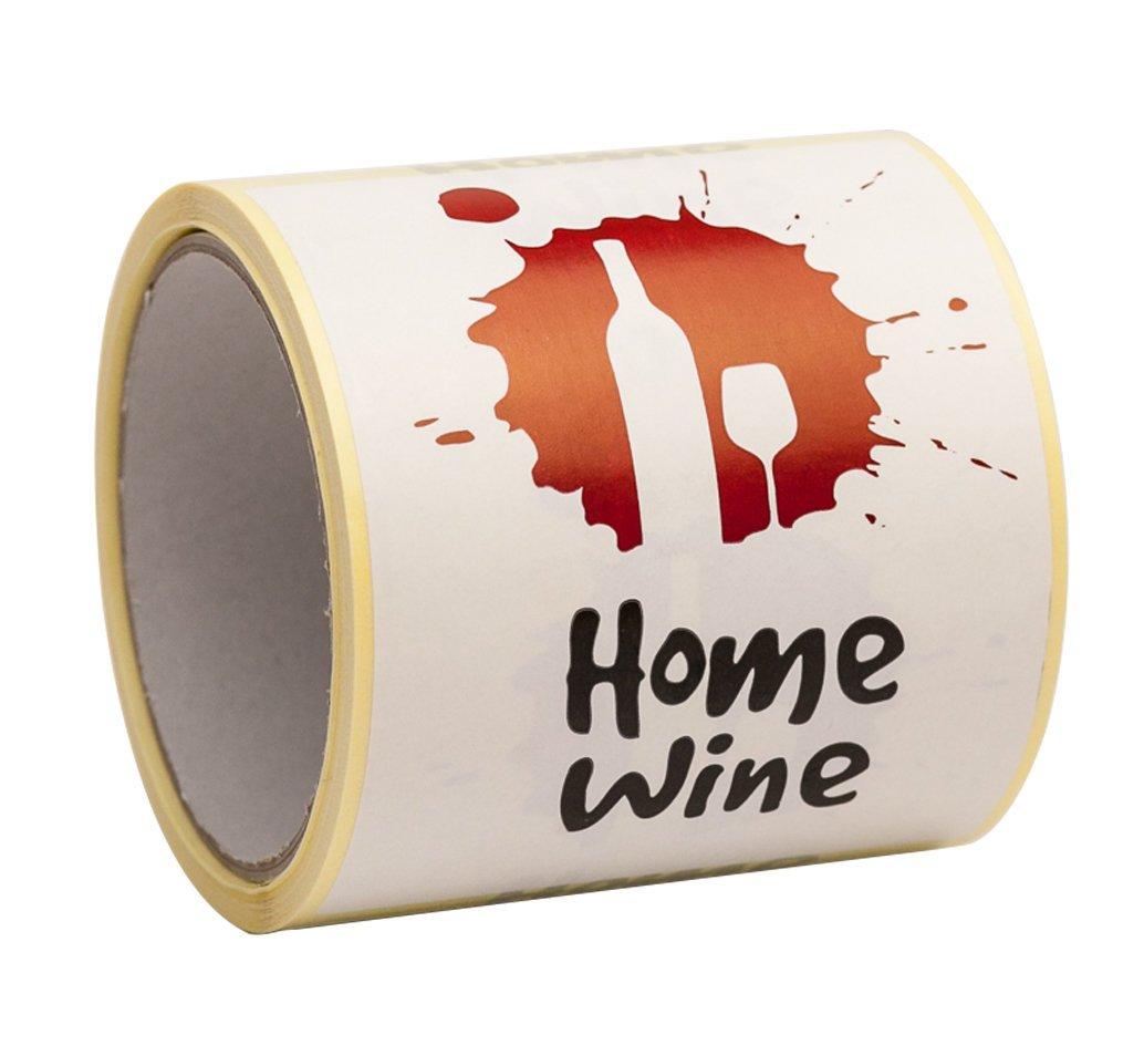 Vin étiquettes pour vin fait maison making- Peel et Stick Taille L 9X 12Cm?Lot De 100 ENVO