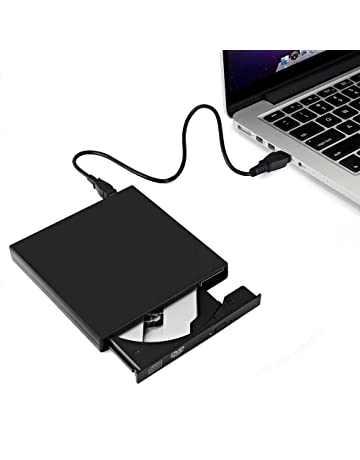 Lector DVD/CD Portátil - Grabador de CD-R/CD-RW y