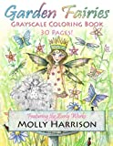 img - for Garden Fairies Grayscale Coloring Book: Featuring the Early Works of Molly Harrison book / textbook / text book