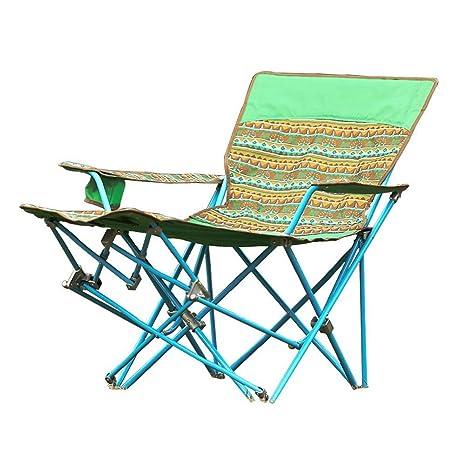 RUIMA Silla de Camping Plegable, con Respaldo Alto, cómoda ...