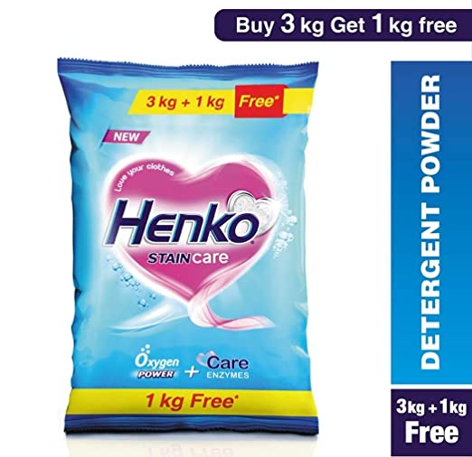 Henko�Stain�Care�Powder�-�3�kg�with�1�kg�Free