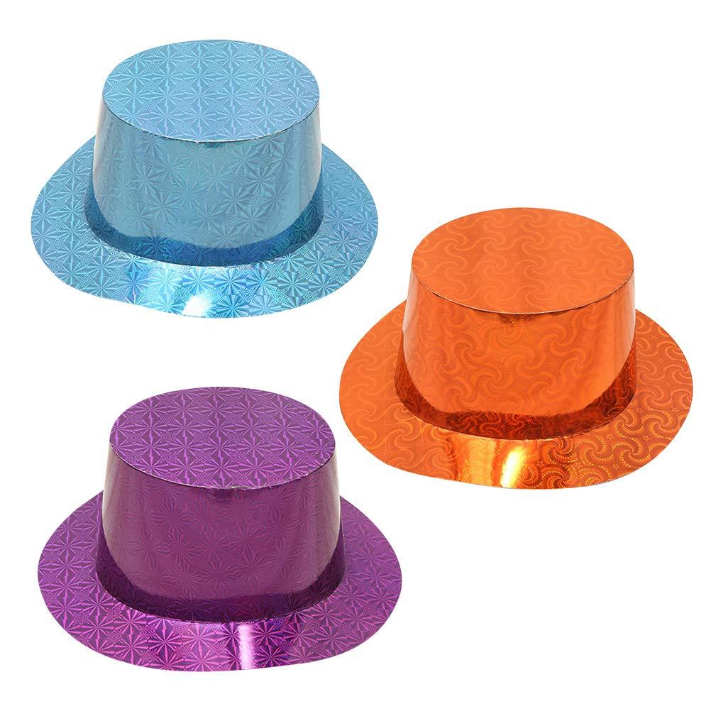 Toyvian 12pcs Sombrero de Fiesta Gorros de Fiesta Adornados ...
