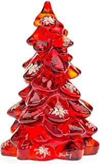 product image for Mini Glass Christmas Tree - Red