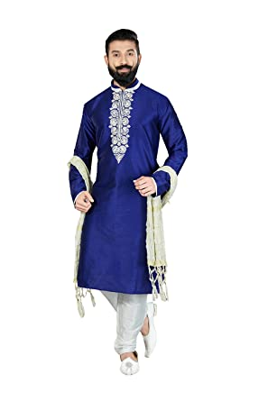 Amazon Kurta Pajama For Men Indian Designer Wedding Partywear