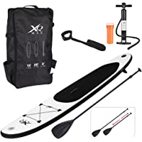 XQMax Sports Paddle Surf Board Inflatable Stand Up SUP Bag Pump Oar Water Racing