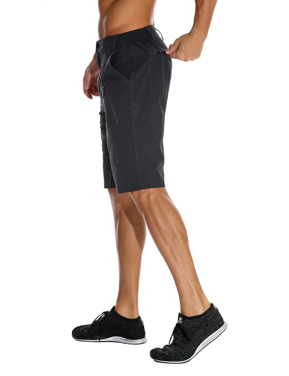 Unitop Mens Lightweight Breathable Soft Quick Dry Hiking Shorts UT7115003