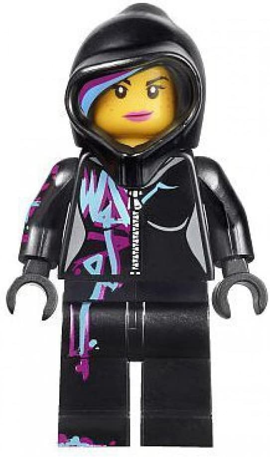 Lego The Movie Minifigure: Wyldstyle with Hoodie Up