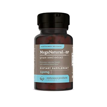 Meganatural-BP Grape Seed Extract Sustained Release Tablets, 60 Count