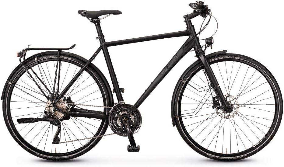 Rabeneick TS7 Diamant Black Matte 2020 - Bicicleta de trekking