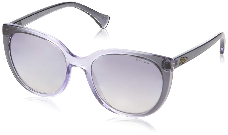 Amazon.com: Gafas de sol Ralph RA 5249 57377B Top gris Grado ...
