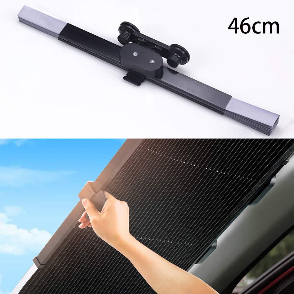 80cm 46 Centimetri Adatto alla Maggior Parte dei Veicoli,46cm 65cm Retrattile Accessori per Tende da Sole Auto 70cm FJW Parabrezza Auto Protezione Solare per Auto