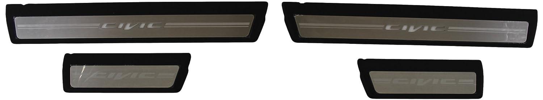 Honda Genuine Accessories 08E12-TR0-110 Illuminated Door Sill Garnish for Select Civic Models