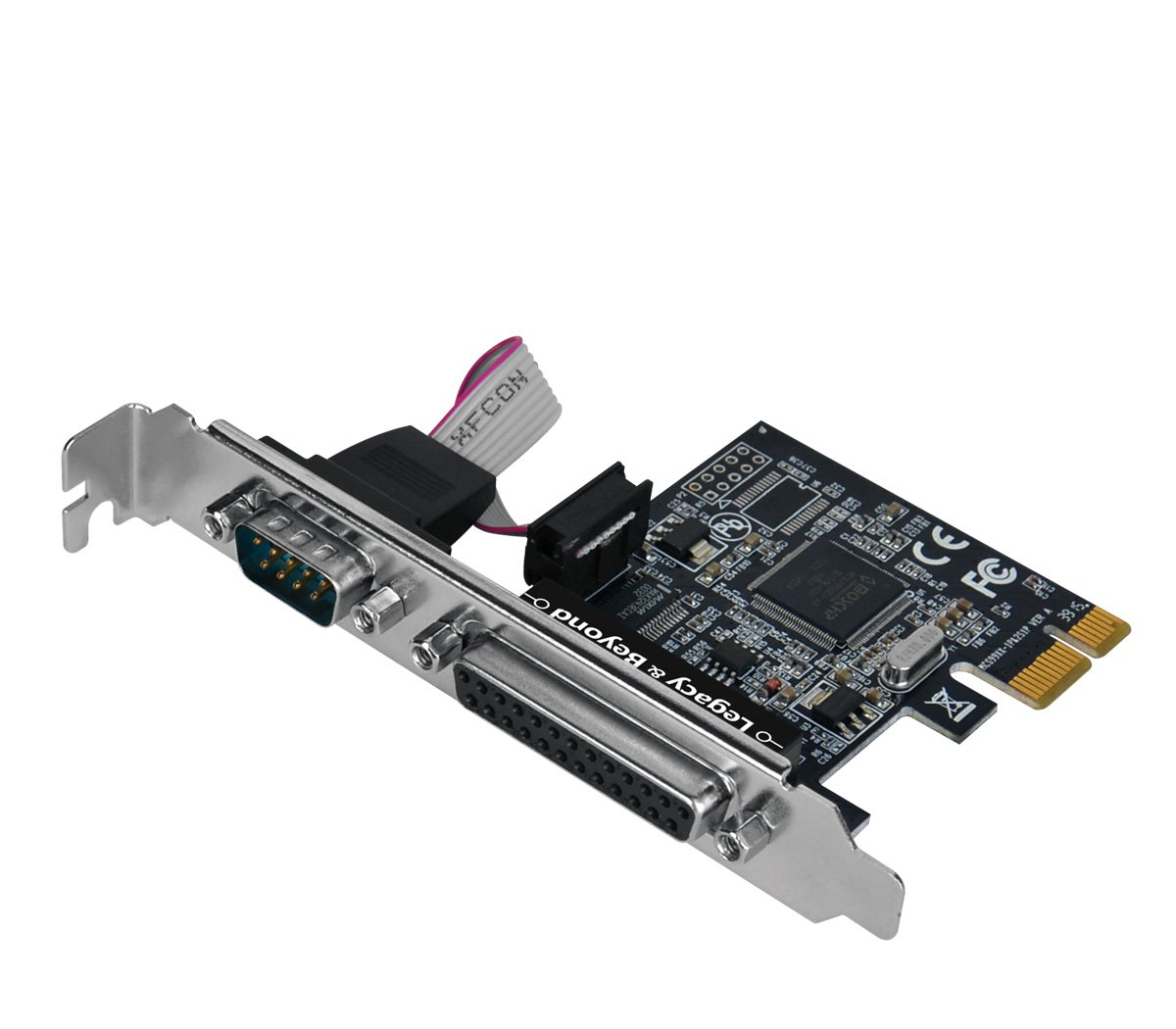 SIIG Legacy and Beyond Series Single Serial Port and Single Parallel Port PCIe Card