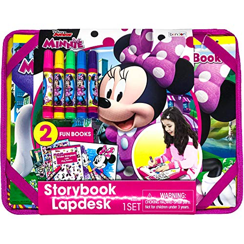 Bendon Disney Minnie Mouse & Friends Storybook Lap Desk Coloring and Activity Set