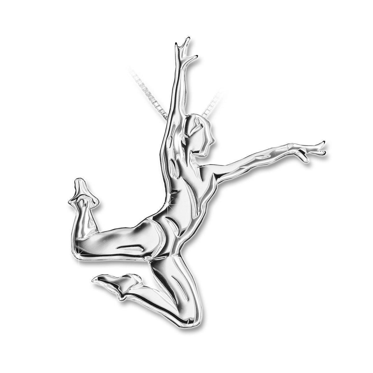 MIKELART Aerobic Gymnastics Jewellery Pendant Jump enjamb/è