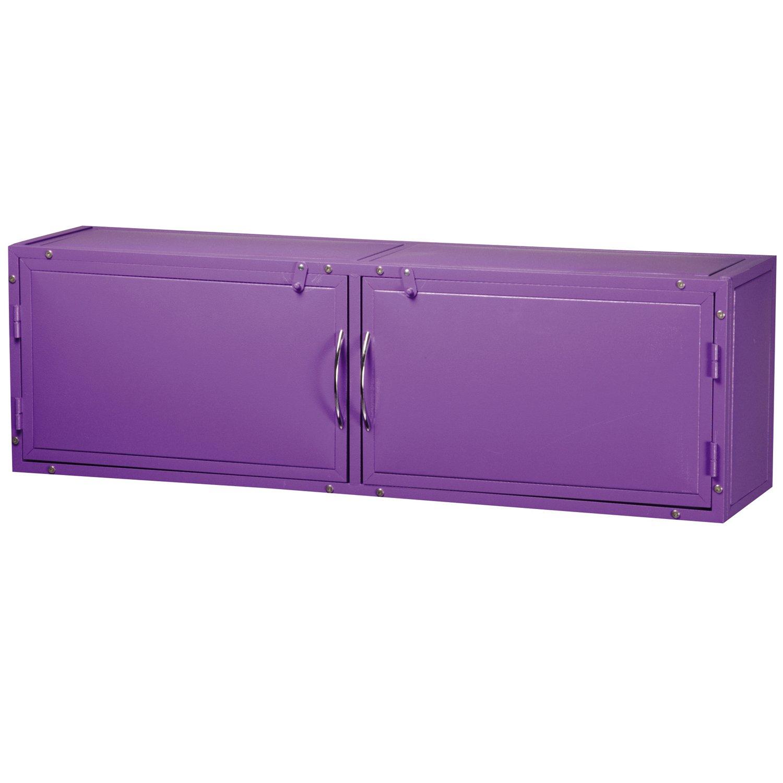 Purple Master Equipment color Overhead Grooming Tub Cabinet, Purple