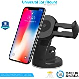 ZAAP Quick Touch Three Generation Premium Car Mount for Android/iOS Devices (Black)