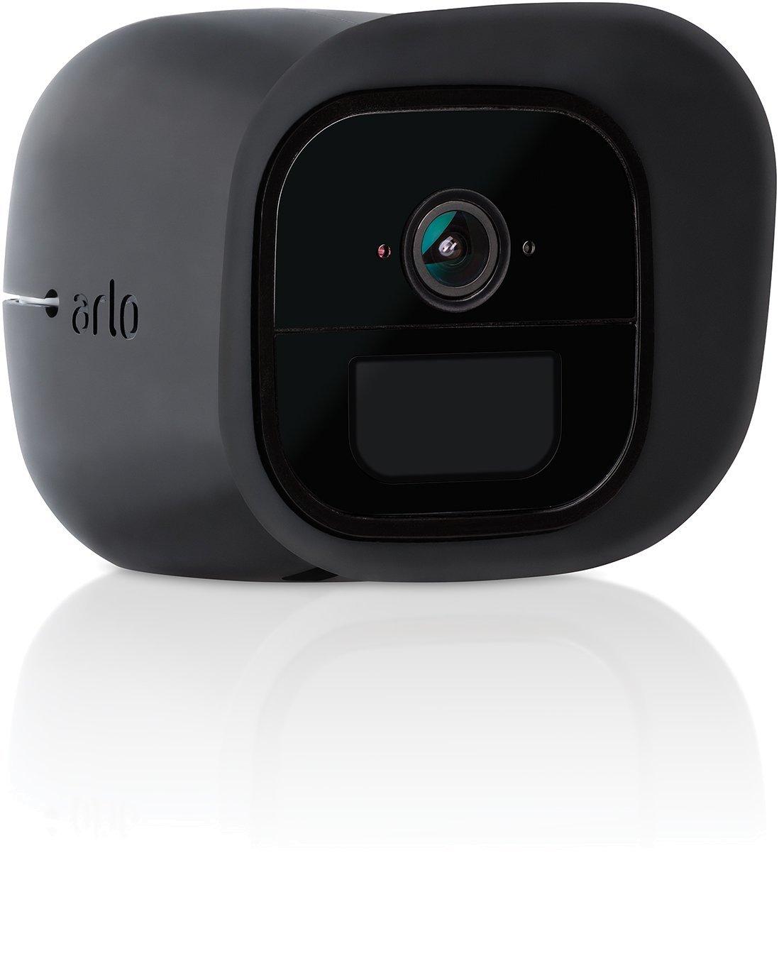 VMA1200B Arlo Accesorio oficial Color Negro Kit de 3 Fundas de Silicona para c/ámaras de Seguridad y vigilancia Arlo Accesorio oficial