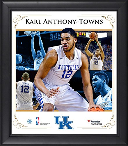 Karl Anthony-Towns Kentucky Wildcats Framed 15