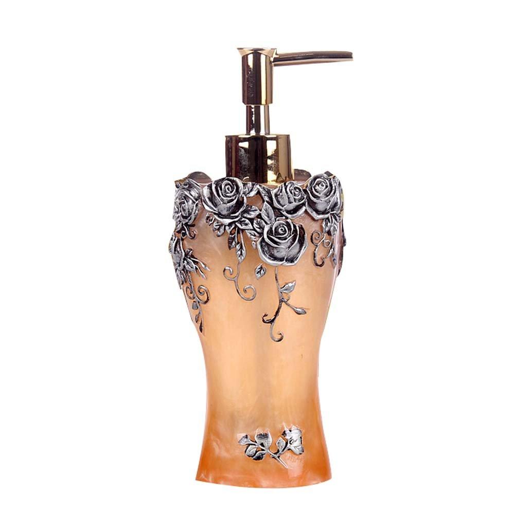 Exquisite Body Cream Flüssigkeit Mehrwegflaschen / Container, Gelbe Rosen- Blancho Bedding