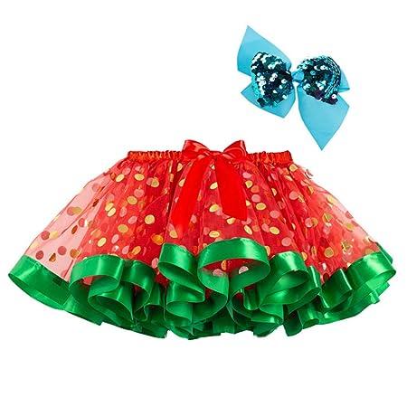 Museourstyty Falda de tutú para niñas con cinta de calabaza para ...