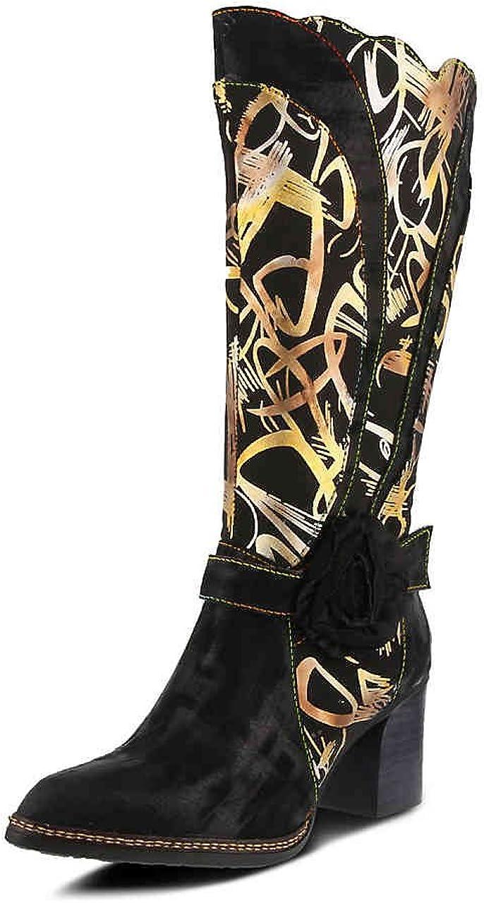 41 L`Artiste Womens Savannah Black Multi Boot