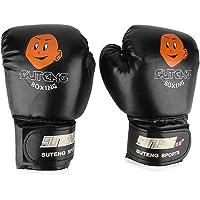 kexinda 1 Paar Kids Boxing Match Training Practice Handschoenen PU Leather Cartoon Ontwerp Bokshandschoenen 3-12 Ages