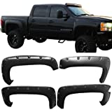 """Fender Flare Fits 2007-2013 Chevy Silverado 1500 