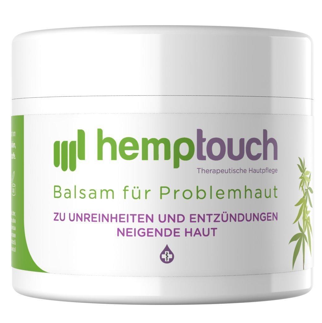 Eczema crema – 200-250 mg CBD – Pomata all'olio di canapa per problemi cutanei – Cannabis cultivata con metodi biologici – Hemp cream - 50 ml hemptouch