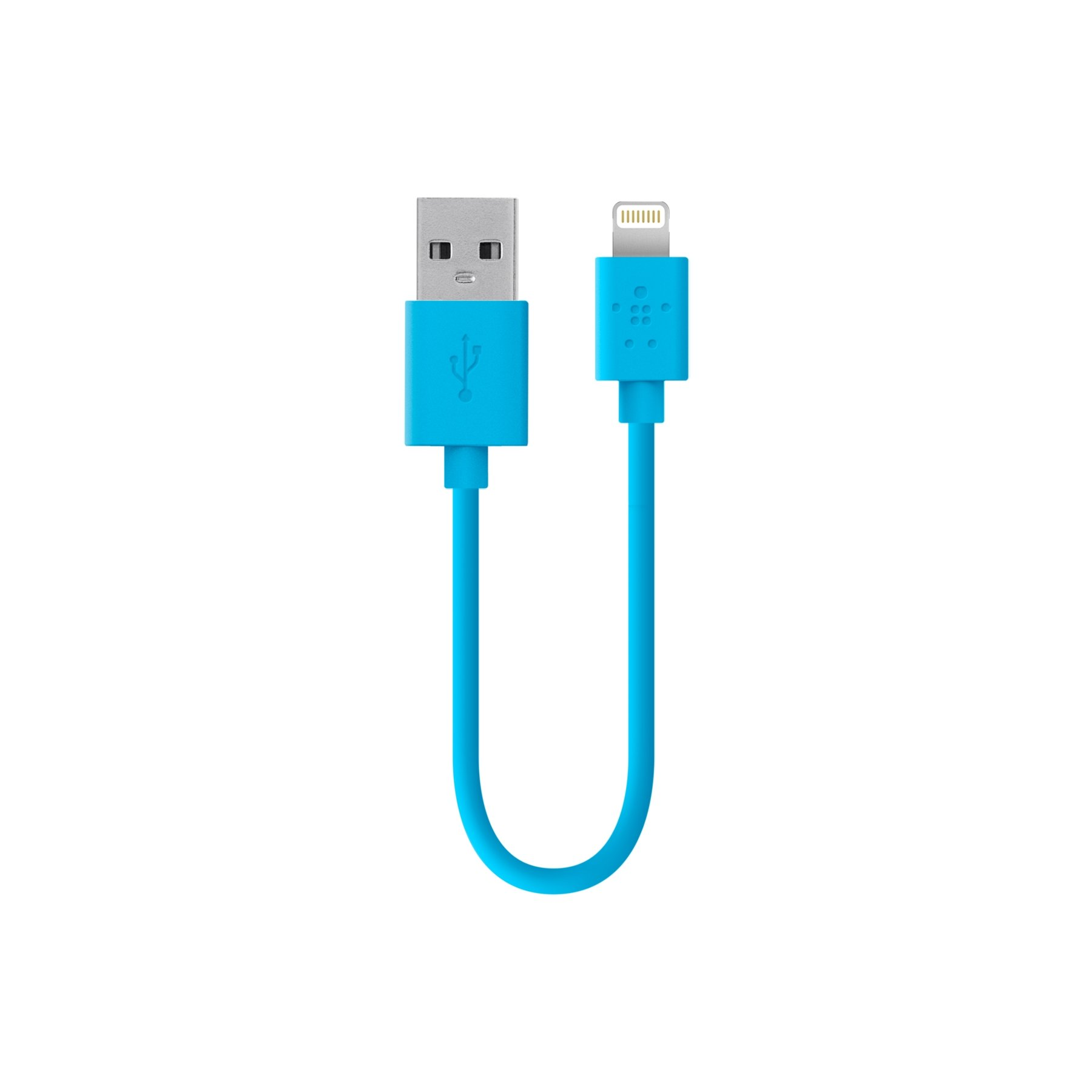 Belkin Apple Certified MIXIT Lightning to USB Cable, 6 Inches (Blue)