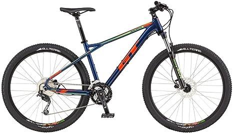 GT 17 Avalanche Comp Bicicleta, Unisex Adulto, Azul, L: Amazon.es ...
