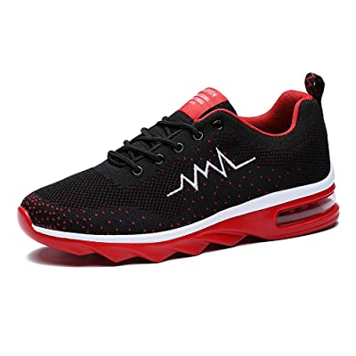 Qingcongnianhua Sport Running Shoes Sneakers for Men Mesh Breathable Lightweight Non-Slip Causal Trail Runners Fashion Gym Athletic. | Trail Running