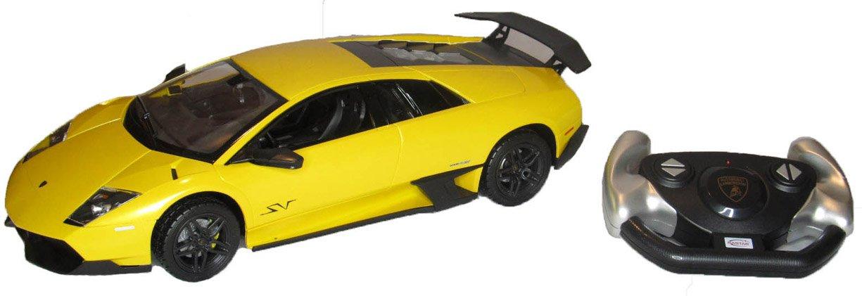 Amazon Com R C 1 14 Lamborghini Murcielago Lp670 4 Sv Yellow By