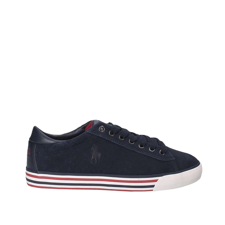 Polo Ralph Lauren Herrenschuhe Herren Wildleder Sneakers Schuhe blu Blu
