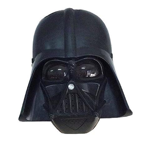 Máscara para Disfraz - Traje - Carnaval - Halloween - Guerrero negro Darth Vader - Color