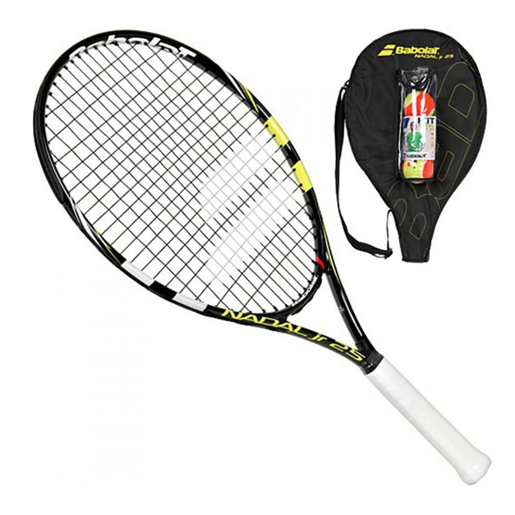 Amazon Com Babolat Nadal Junior 25 Pre Strung Tennis Racquet